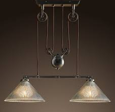 Pulley Pendant Light Vintage Ceiling Lights That Are On Pullys Industrial Pulley