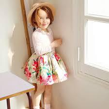 long floral dresses for kids
