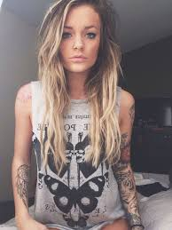 female tattoo arm sleeves tattoo lust the eleventh edition beautiful blondes fonda