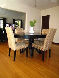 dining room simple seagrass dining chairs ideas excellent
