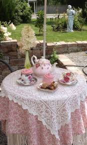 tea party tables morning tea in the garden tea time teas and gardens
