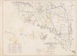 Texas Highway Map General Highway Map Nacogdoches County Texas The Portal To