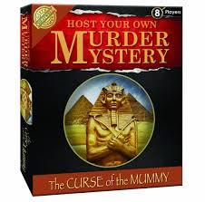 Murder Mystery Dinner Party Kit Murder Mystery Curse Of The Mummy The Big Box Café