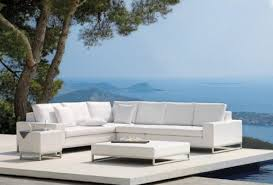 Patio Modern Furniture Brilliant Modern Patio Furniture Outdoor Sofa Seating Sets