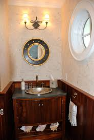 Nautical Wall Mirrors Bathroom Nautical Accessories Zamp Co