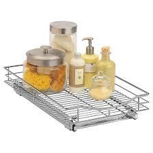 Kitchen Cabinet Sliding Shelves Lynk Professional Pull Out Cabinet Organizer Sliding Shelf 14