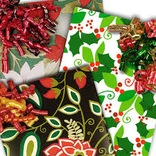 cheap christmas wrapping paper floral christmas wrapping paper