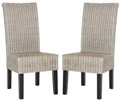 dining chairs superb chairs furniture santorini dining chair compact gray wicker patio dining set arjun h wicker dining gray wicker indoor dining chairs