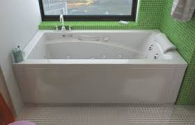 Soaker Bathtubs Maax Optik End Drain Skirted Alcove Soaker Tub 66