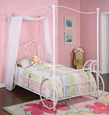 rent a canopy powell princess emily shabby chic white with pink