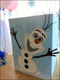 frozen party decoration olaf gift box office supplies for work