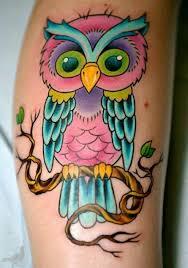 30 cute owl tattoos ideas