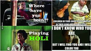 Facebook Troll Meme - holi memes because only whatsapp messages and facebook updates