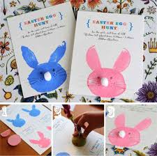 how to make your own easter bunny cards go make me