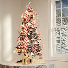 kimball 3 snow frosted pull up tree by northwoodstm