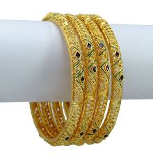 wedding gold set indian women traditional kada bangle set wedding bracelets bridal