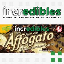 incredibles edibles incredibles vanilla affogato 100mg frosted leaf federal