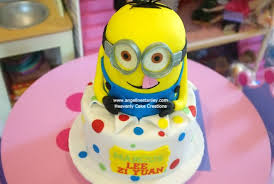 Minion Cake Decorations Heavenly Cake Creations U2014 Delicious Cake Art For All Occasions