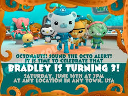 octonauts birthday party invitations octonauts invitation tapinko