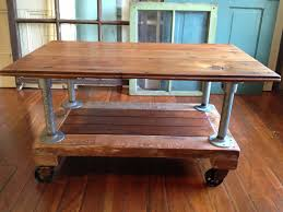 reclaimed wood coffee table with wheels reclaimed wood coffee table coffee tables