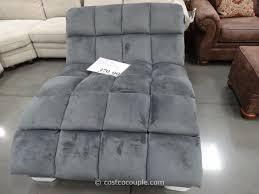 Chaise Lounge Double Brilliant Costco Chaise Lounge Emerald Home Boylston Double Fabric