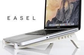 minimalist laptop easel wooden minamalist laptop stand video