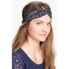 knot headband carole print twist knot headband polyvore
