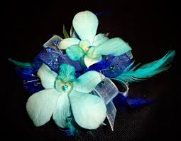 Turquoise Corsage Corsage U0026 Boutonniere U2014 All Seasons Floral And Gifts