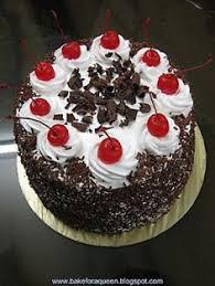black forest cake happy birthday baking pinterest