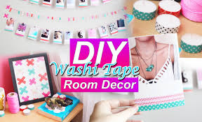 sa chambre diy décorer sa chambre washi room decor