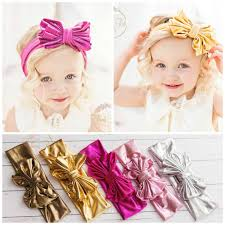 baby girl headwraps clearance baby headbands wraps metallic bow