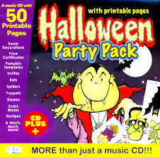halloween party packs halloween party pack with printable pages amazon co uk crs