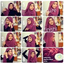 tutorial jilbab remaja yang simple hijab tutorial paris 2013 simple