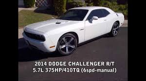mbrp exhaust 2014 dodge challenger r t youtube