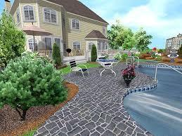 Italian Backyard Design by Garden Vitripiazza Nuvola Porcelain Paving Circular Decking