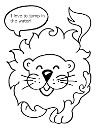 adventure swim animal coloring pages
