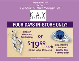 kay jewelery clifton park center customer appreciation event at kay jewelers