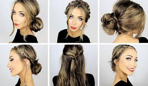 heatless hair styles 5 easy heatless hairstyles for work school danielle mansutti