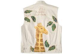 jungle theme diy painted tacky ugly safari vest women u0027s size