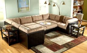 Sofa Brown Sectional Couch Large Sectional Black Leather