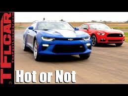 ford mustang chevy camaro 2016 ford mustang gt vs chevy camaro ss mashup review tfl