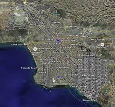Google Maps Los Angeles Ca by Aerial Gis Technology Southern California Coastal Photo Inventory