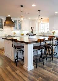 kitchen island like chairs at island just make bigger with more