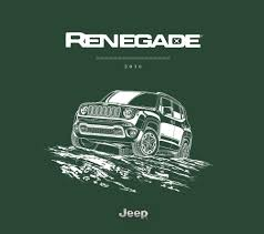 chrysler 2016 jeep renegade sales brochure