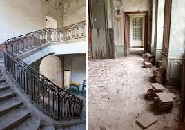 French Chateau Interior A Couple Bought An Abandoned French Chateau From The 1700s This