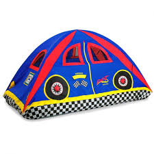 fascinating pacific play rad racer twin bed tent toys cars privacy