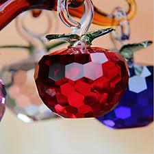 aliexpress buy 50mm cut glass apple