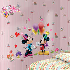 Mickey Home Decor Zs Sticker Mickey Mouse Minnie Mouse Wall Sticker Home Decor