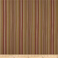 ansley home decor cotton duck stripe chocolate red discount