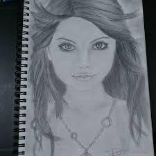 a portrait of selena gomez by knightxice on deviantart